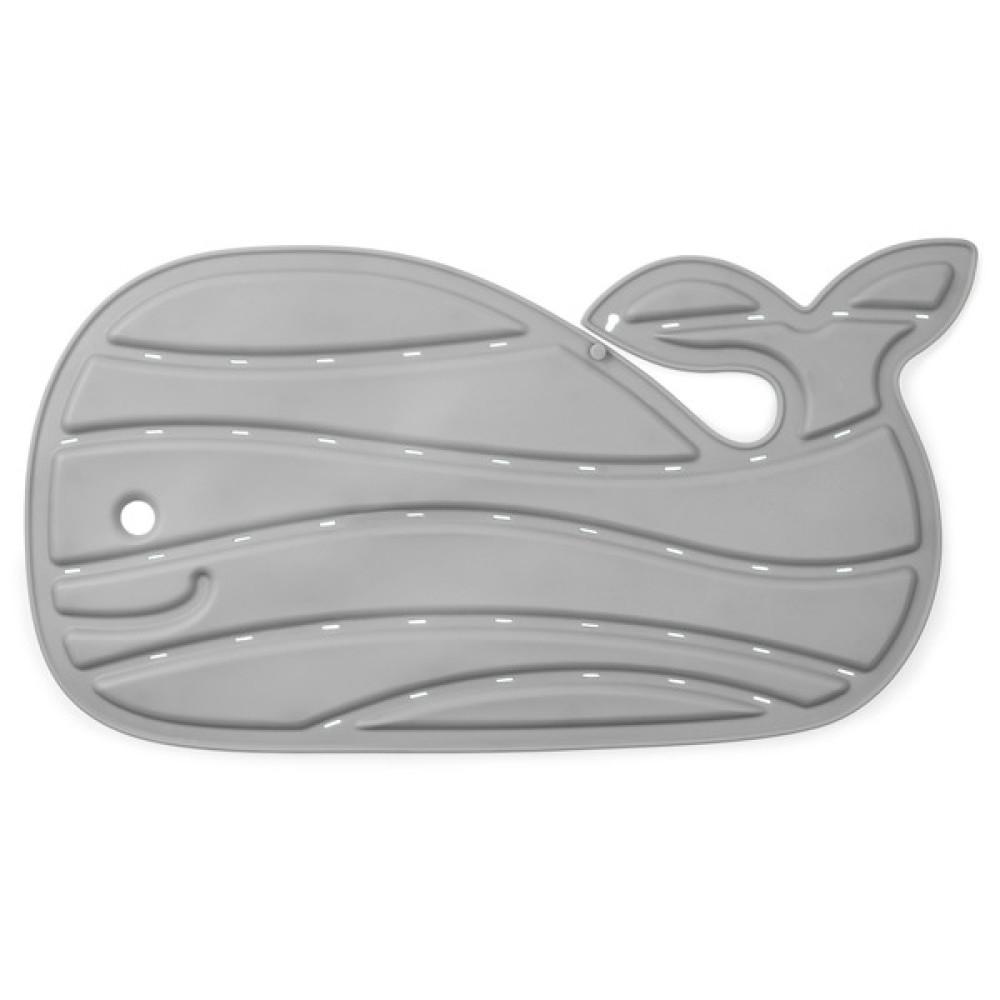 Skip Hop - Moby Covoras de baie antiderapant in forma de balena - Gri