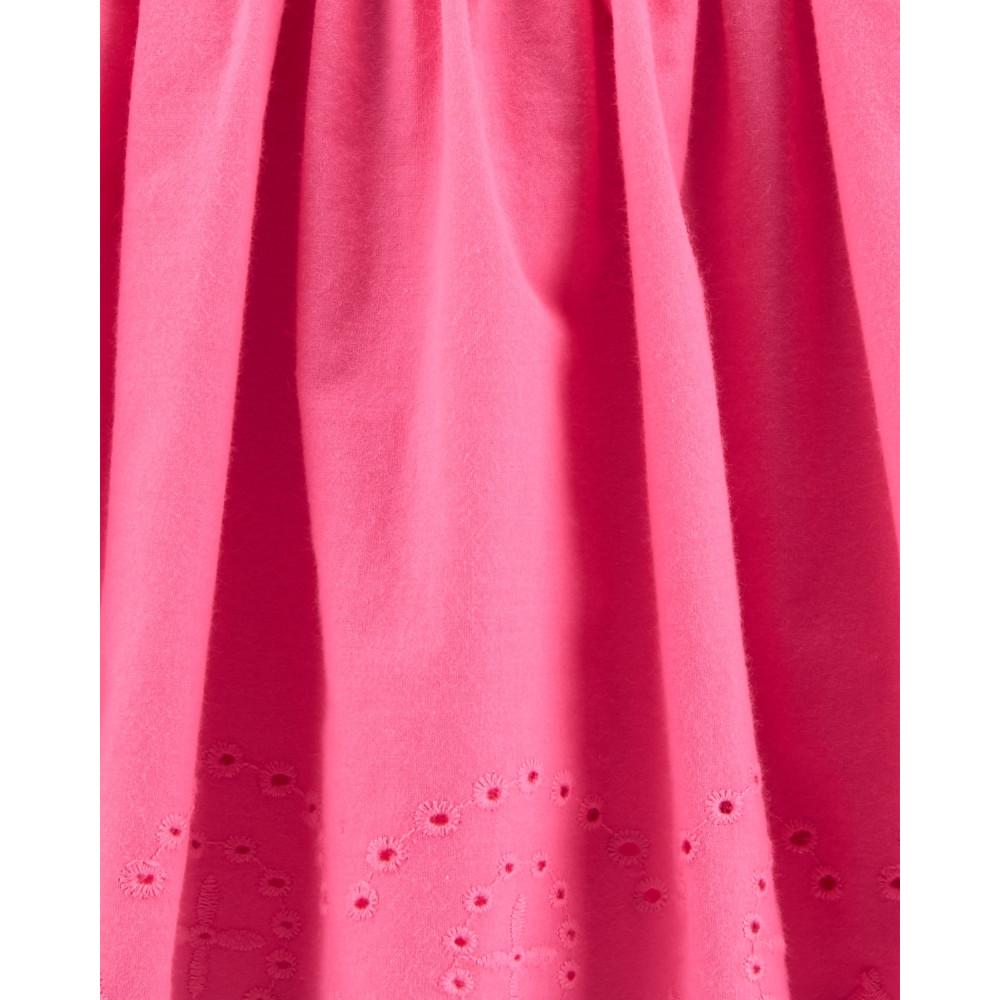 Carter's Rochiță roz cu volanase