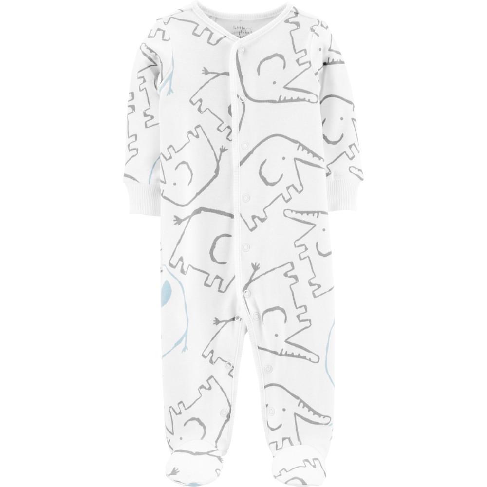 Carter's Pijama Elefanti 100% Bumbac Organic