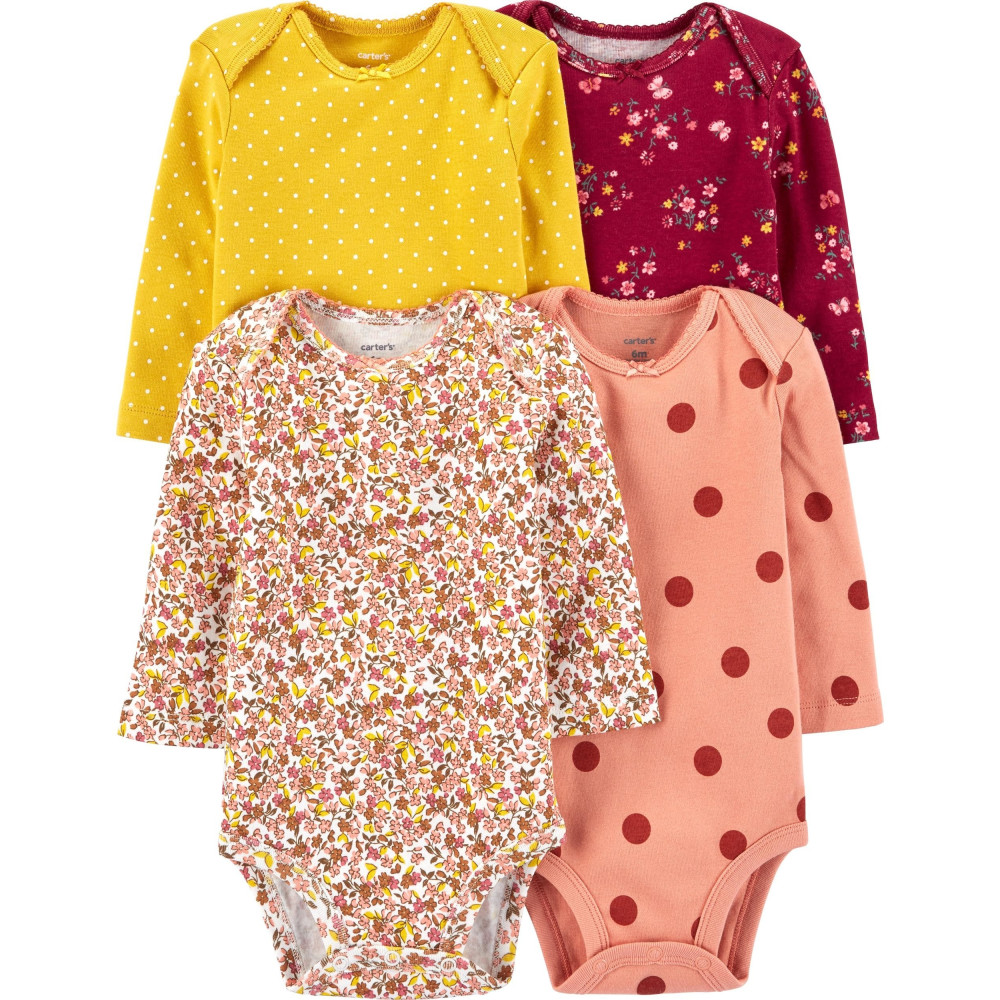 Carter 's Set 4 piese bebe body Flori