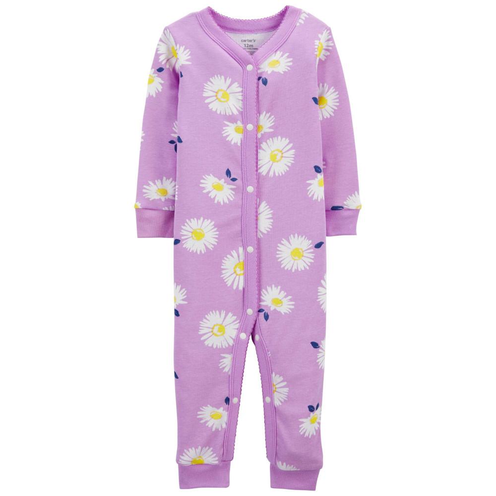 Carter's Pijama cu capse Flori