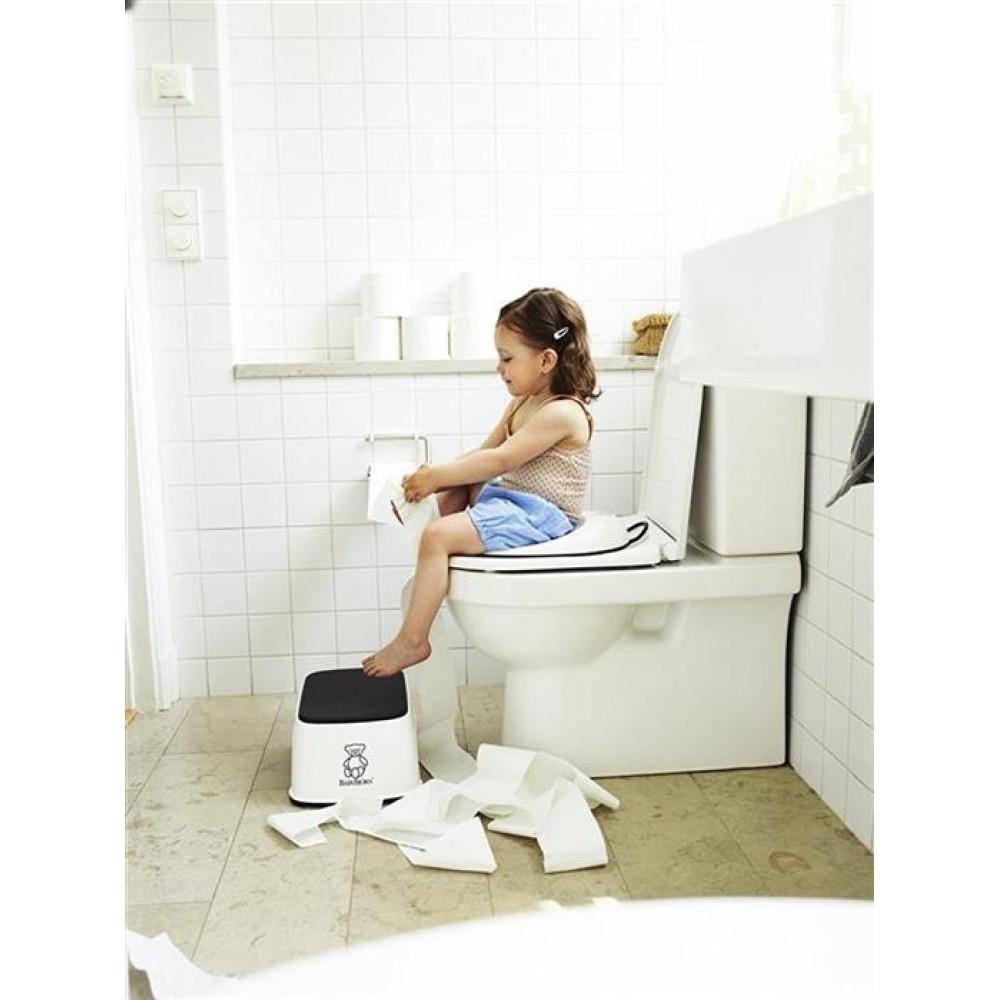BabyBjorn - Reductor pentru toaleta Toilet Training Seat White