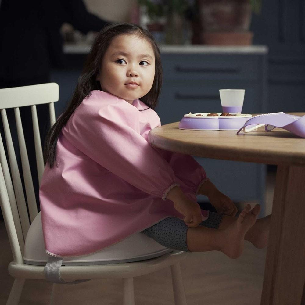 BabyBjorn - Bavetica cu maneca lunga Pink
