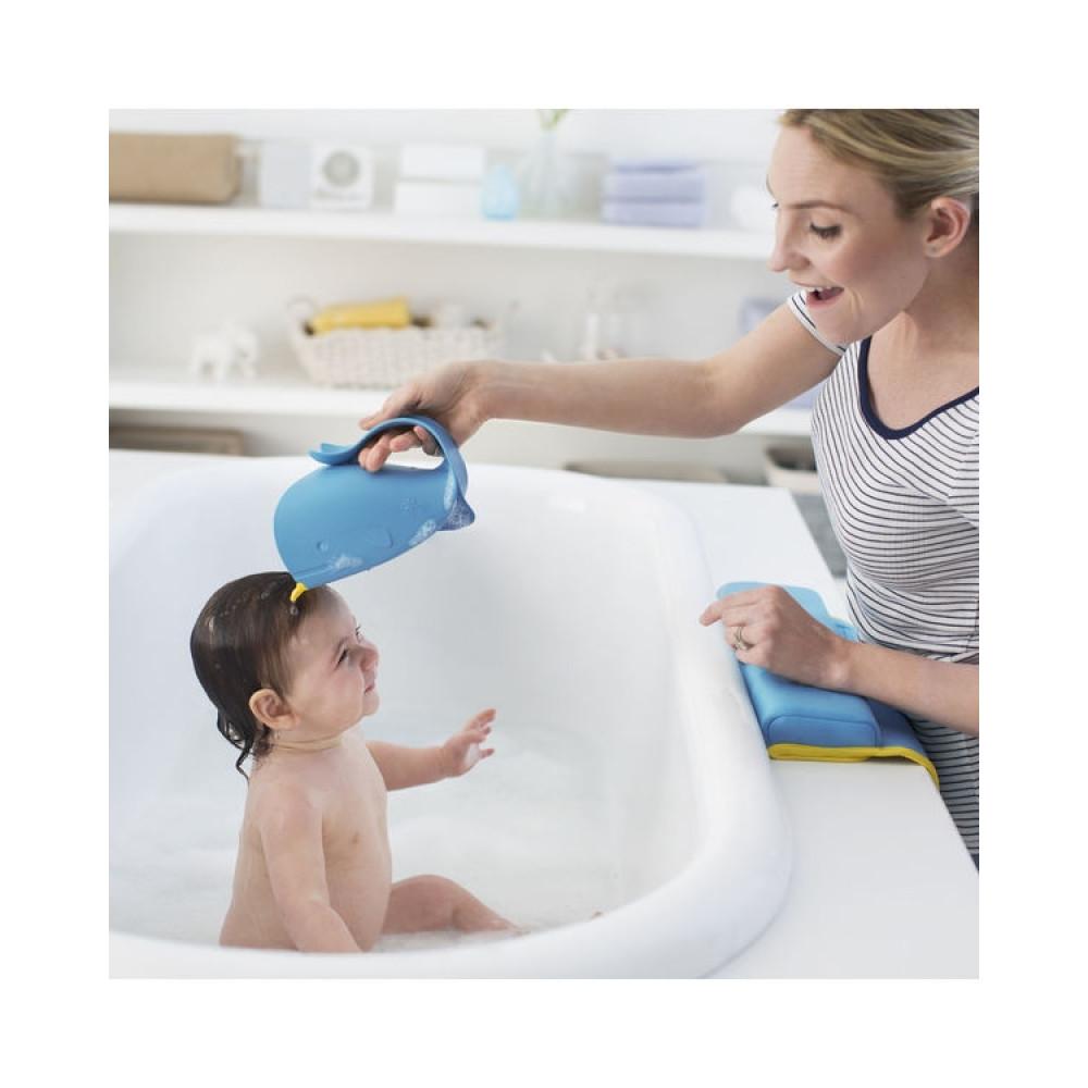 Skip Hop - Recipient de clatire pentru baie albastru - Moby