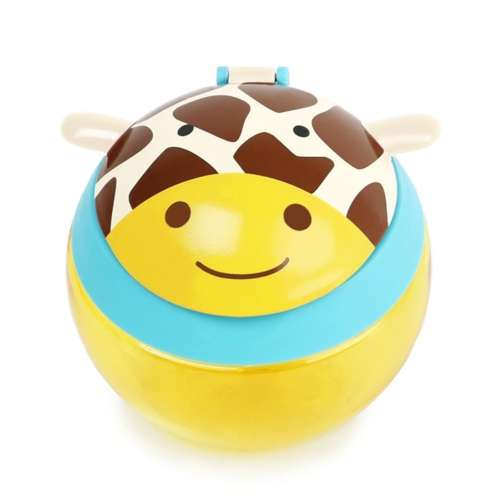 Skip Hop - Cana pentru gustari Zoo – Girafa
