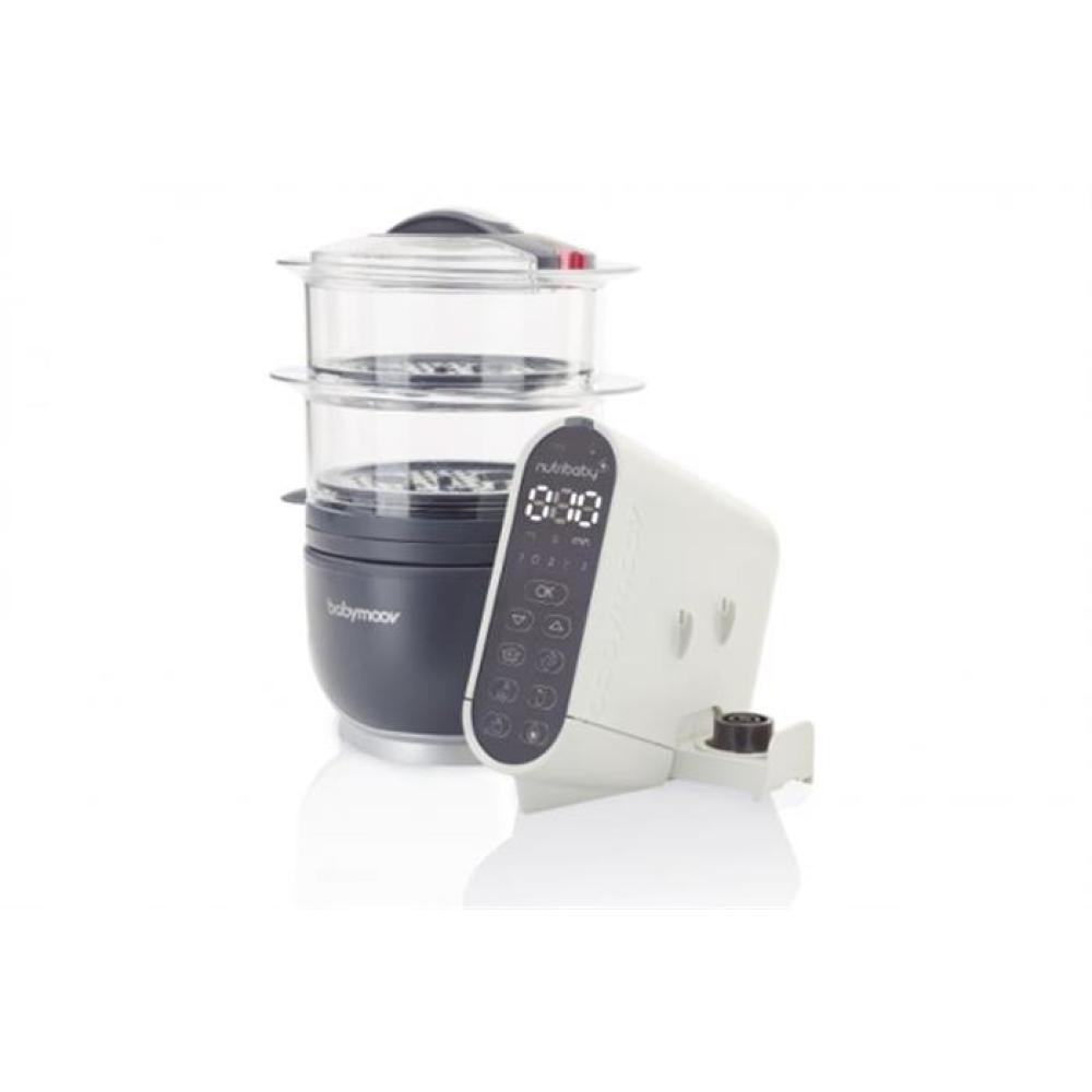 Babymoov - Robot multifunctional 5 in 1 Nutribaby (+) Industrial Grey