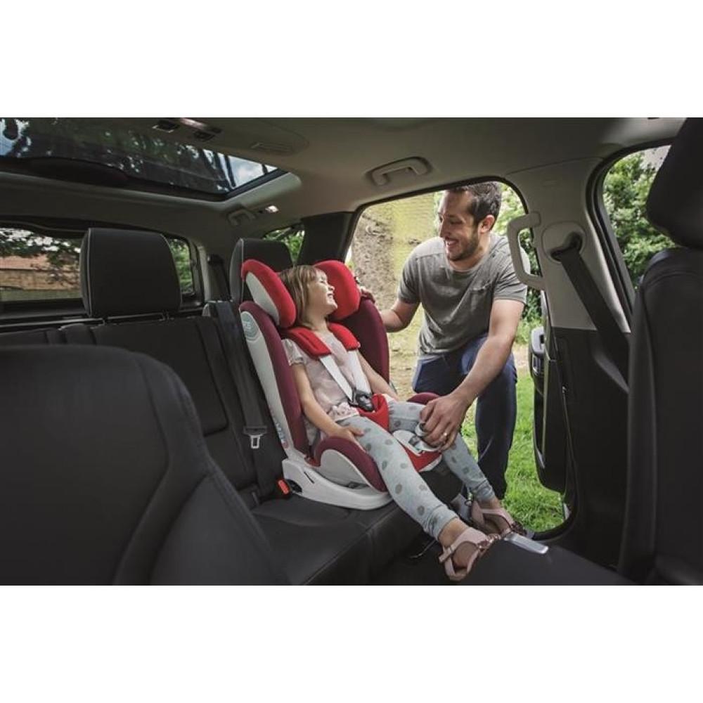 APRAMO – SCAUN AUTO EROS LIVERPOOL RED, 9-36 KG -RESIGILAT