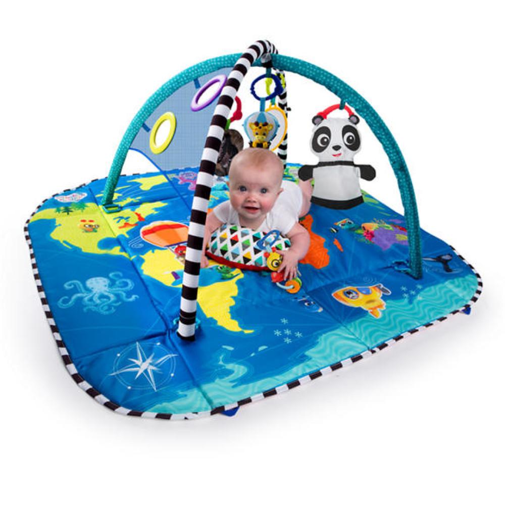 Baby Einstein - Salteluta de activitati 5 in 1 World of Discovery