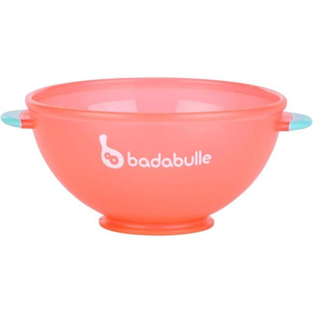 Badabulle - Set 3 boluri colorate pt mancare