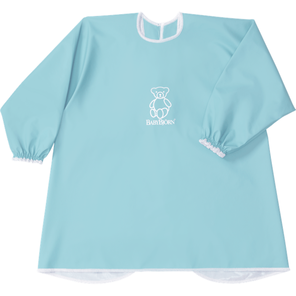 BabyBjorn - Bavetica cu maneca lunga Turquoise