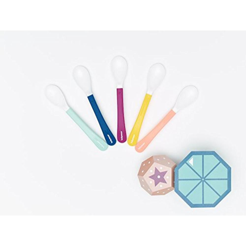 Babymoov – Set de 5 lingurite multicolore