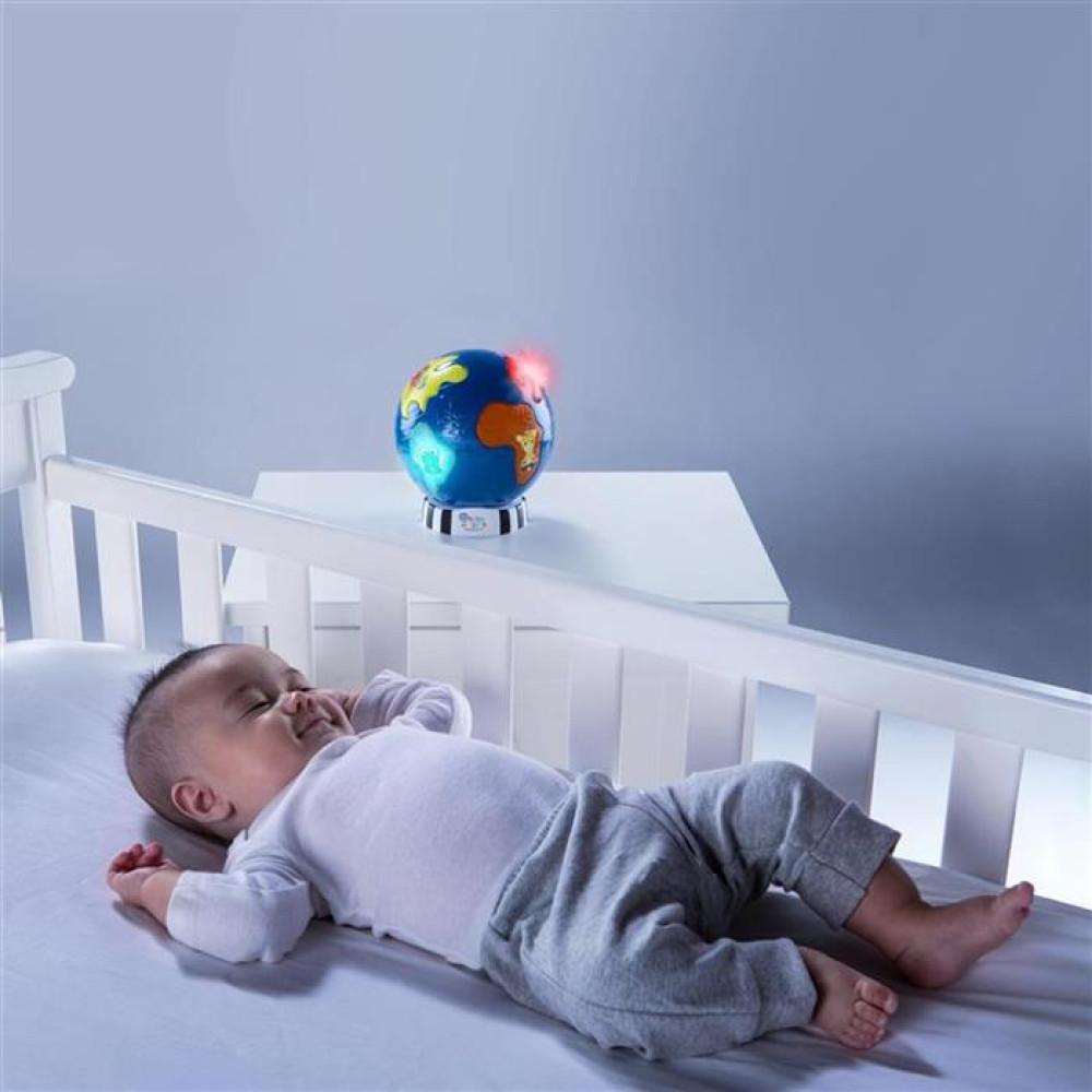 Baby Einstein - Jucarie cu lumini si suntele Discovery Globe