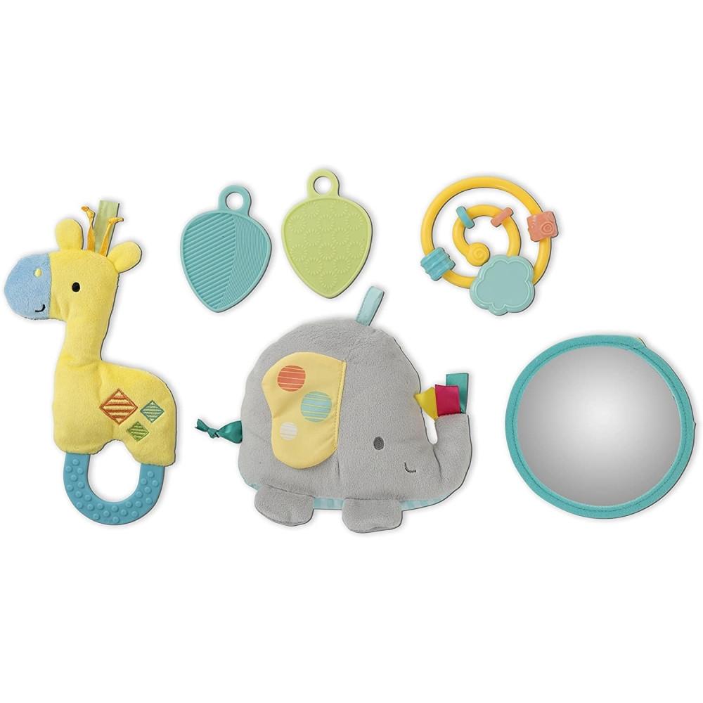 "Bright Starts - Salteluta de activitati ""Imbratiseaza Elefantul!"""