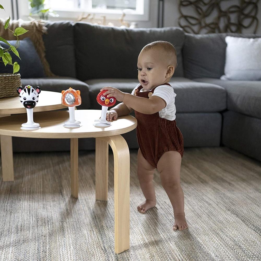 Baby Einstein - Set 3 zornaitoare in forma de animalute