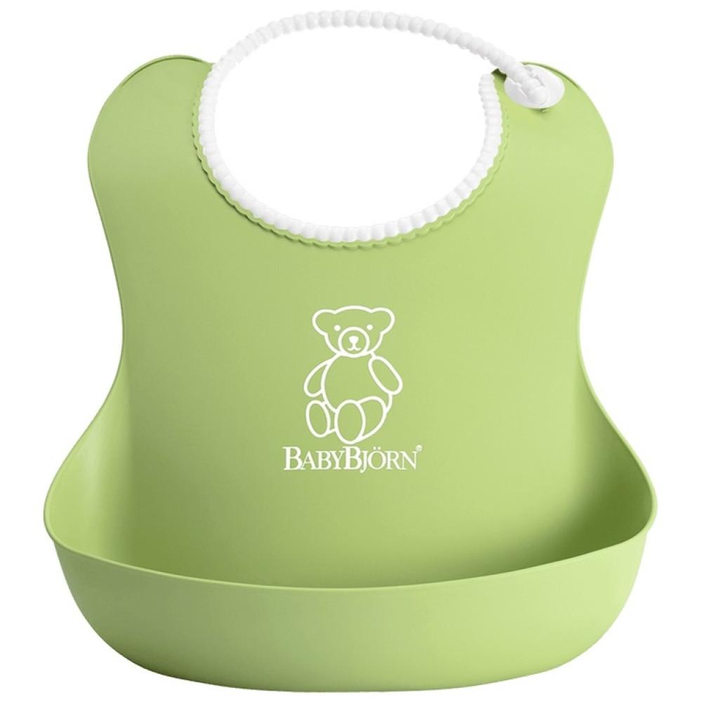 BabyBjorn - Bavetica moale Soft Bib Green