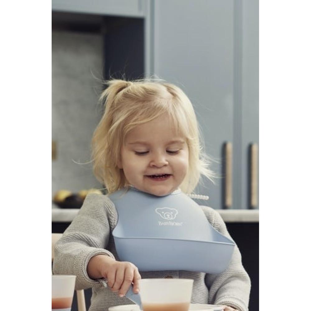 BabyBjorn - Set 2 bavete, Powder Yellow/ Powder Blue