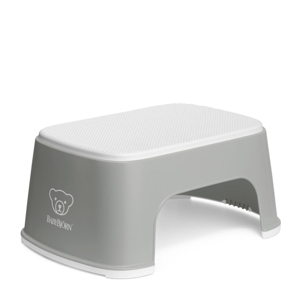 BabyBjorn – Treapta inaltator pentru baie – Step Stool – Grey / White