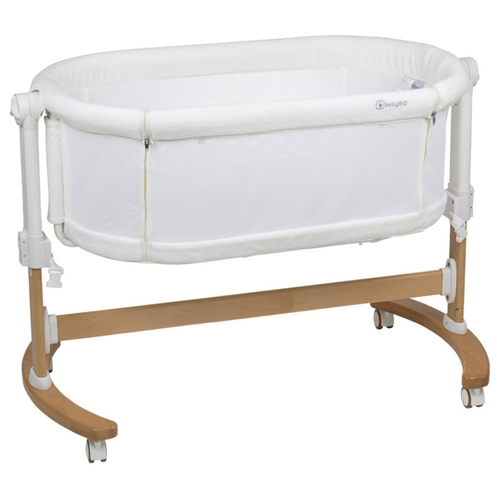 BabyGo - Patut co-sleeper 2 in 1 Amila, Creme