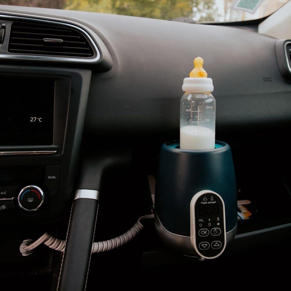 Babymoov - Incalzitor pentru biberoane (recipiente) pentru casa si masina NutriSmart