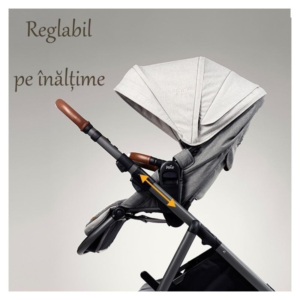 Carucior pentru copii Joie multifunctional, reglabil pe inaltime Aeria Signature, Eclipse