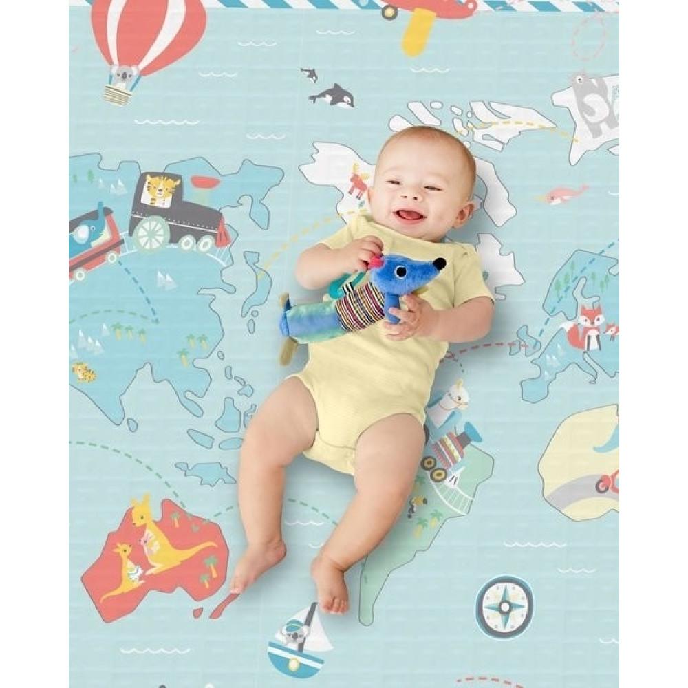 Salteluta de joaca bebe reversibila Skip Hop Little Travelers