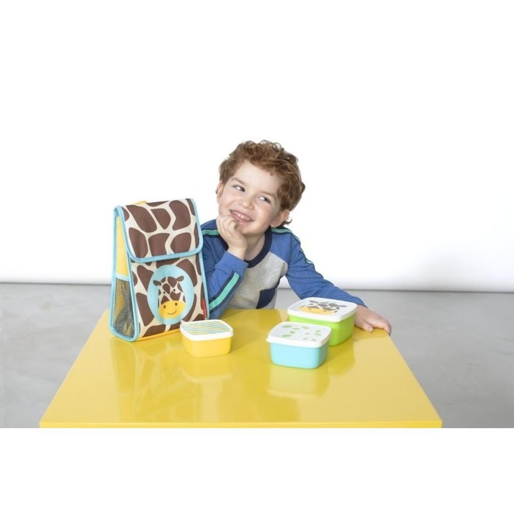 Skip Hop - Set 3 cutii pentru pranz Zoo - Girafa