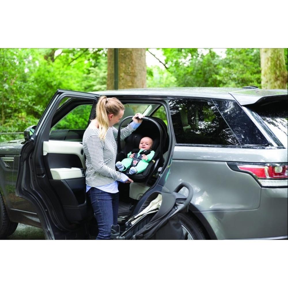 Joie - Scoica auto inclinabila I-Size I-Level Gray Flannel, nastere-85 cm