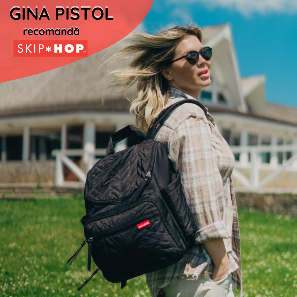 Skip Hop - Rucsac pentru scutece - Forma Grey