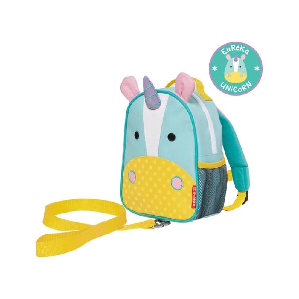 Skip Hop - Ghiozdan cu centura de siguranta Zoo – Unicorn