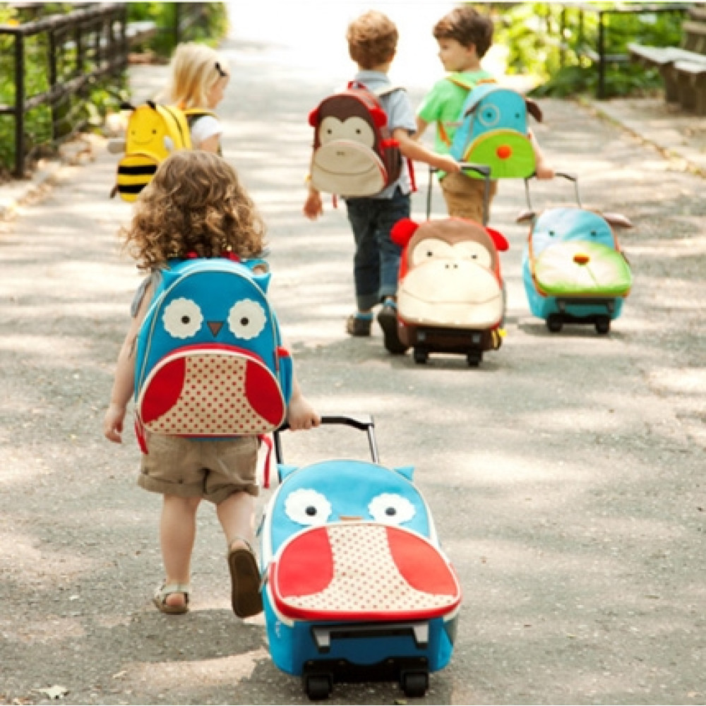 Skip Hop - Ghiozdan Troller Zoo - Bufnita