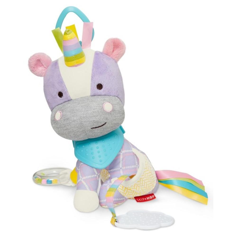 Skip Hop - Jucarie de activitati Unicorn - Bandana Buddies