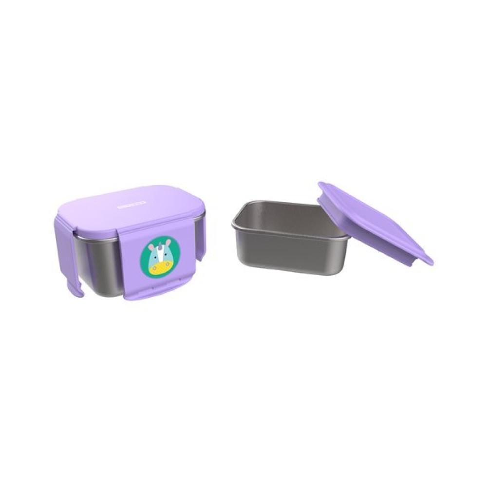Skip Hop - Kit pentru pranz din otel inoxidabil Zoo - Unicorn