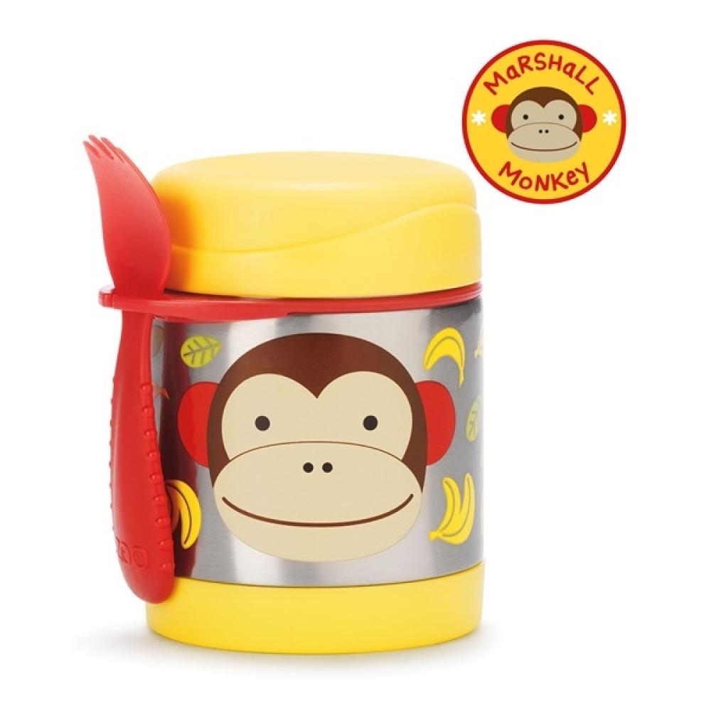 Skip Hop - Recipient pentru mancare Zoo - Maimutica