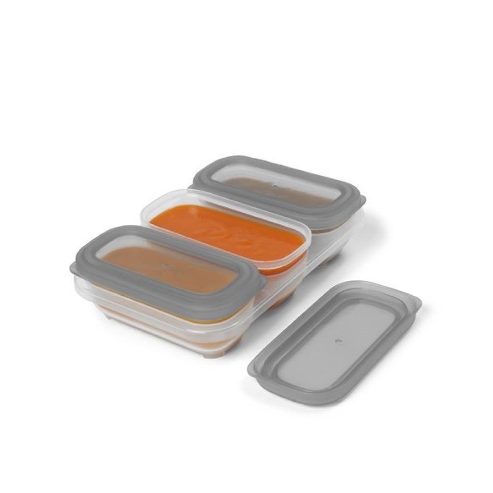 Skip Hop - Recipiente pentru depozitarea mancarii, 120 ml (4 oz)