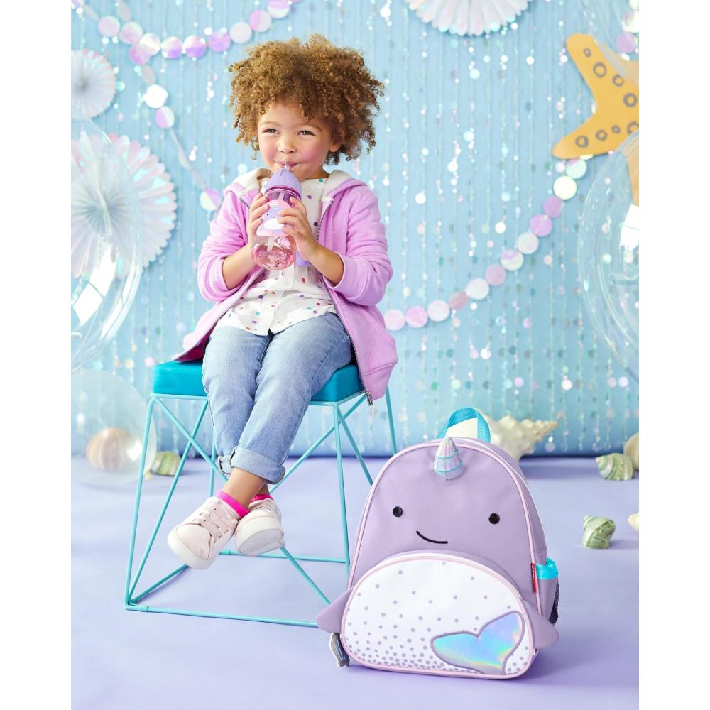 Skip Hop Sticla cu pai Zoo - Balena