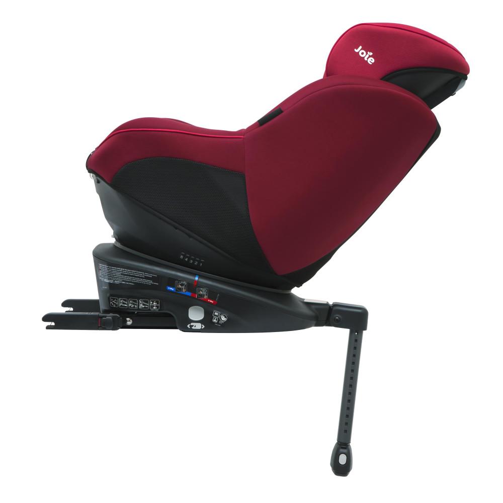 Joie – Scaun auto Rotativ cu Isofix Spin 360° Merlot,  0-18 kg