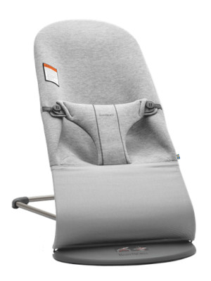 BabyBjorn - Balansoar Bliss Light Grey, 3D Jersey