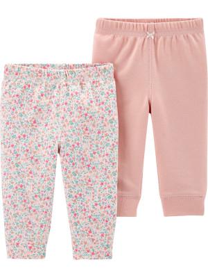 Carter's Set 2 piese pantaloni florali