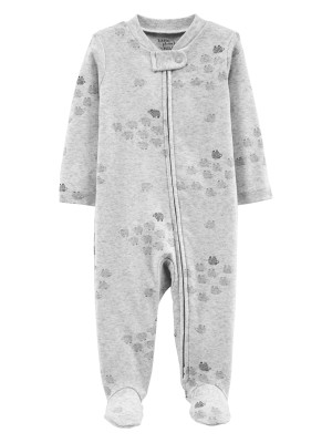 Carter's Pijama cu fermoar reversibil Oite 100% Bumbac Organic