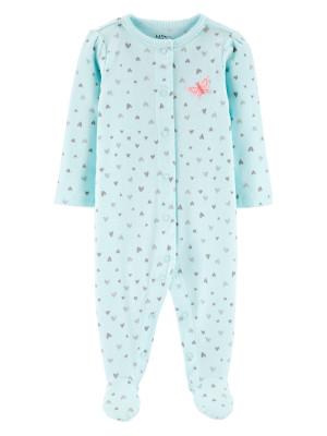 Carter's Pijama Inimioare 100% Bumbac Organic