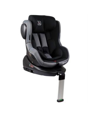 BabyGo – Scaun auto ISO Rotativ 360° - Negru - RESIGILAT
