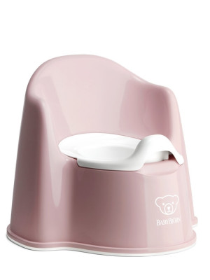 BabyBjorn - Olita cu protectie spate Pottty Chair Powder Pink