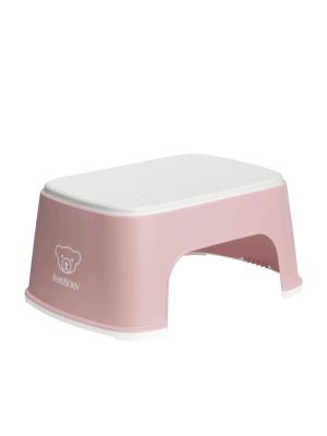 BabyBjorn – Treapta inaltator pentru baie – Step Stool – Powder Pink / White