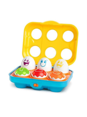 Bright Starts - Jucarie Put N Shake Eggs - Giggling Gourmet