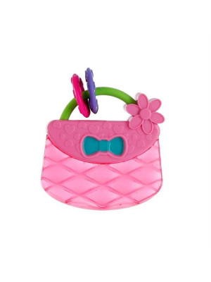 Bright Starts - Posetuta Pretty In Pink Carry & Teethe Purse