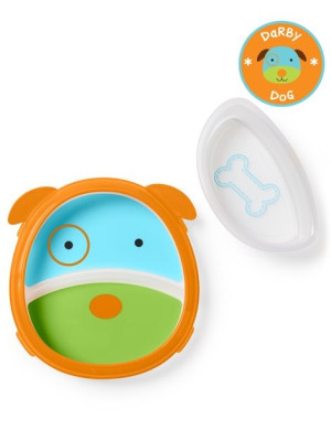 Skip Hop Set Farfurie & Bol Zoo Smart – Catel