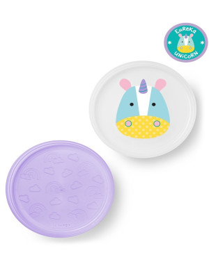 Skip Hop - Set farfurii anti-alunecare - Unicorn