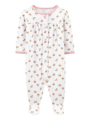 Carter's Pijama alba cu flori