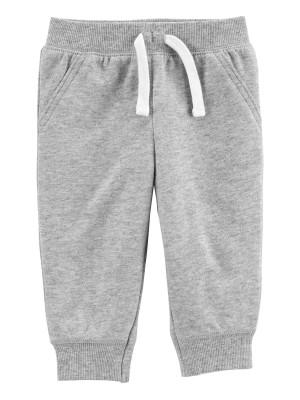 Carter's Pantaloni gri cu snur