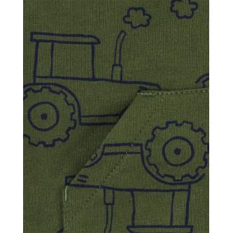Carter's Set 3 piese vesta, body si pantaloni Tractor
